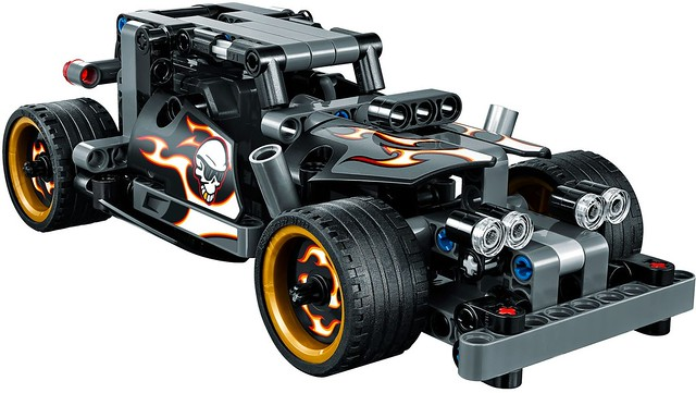 LEGO Technic 2016: 42046 - Getaway Racer