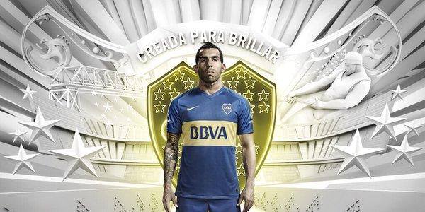 camiseta de Boca 2016