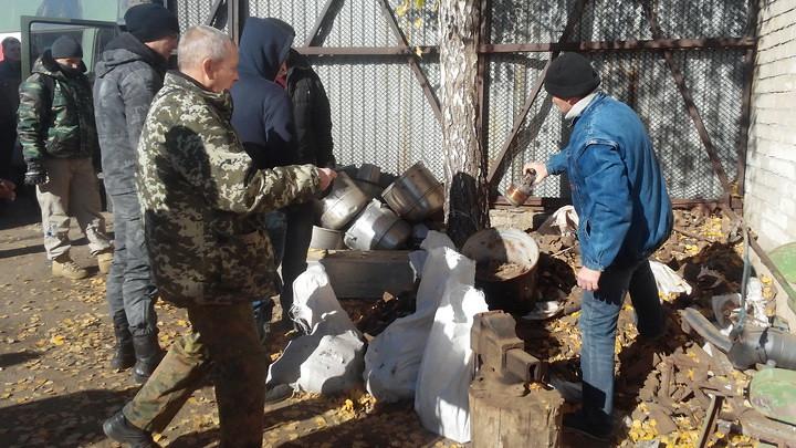 Учасники АТО знайшли залишки боєприпасів на пункті прийому металобрухту, Лозова