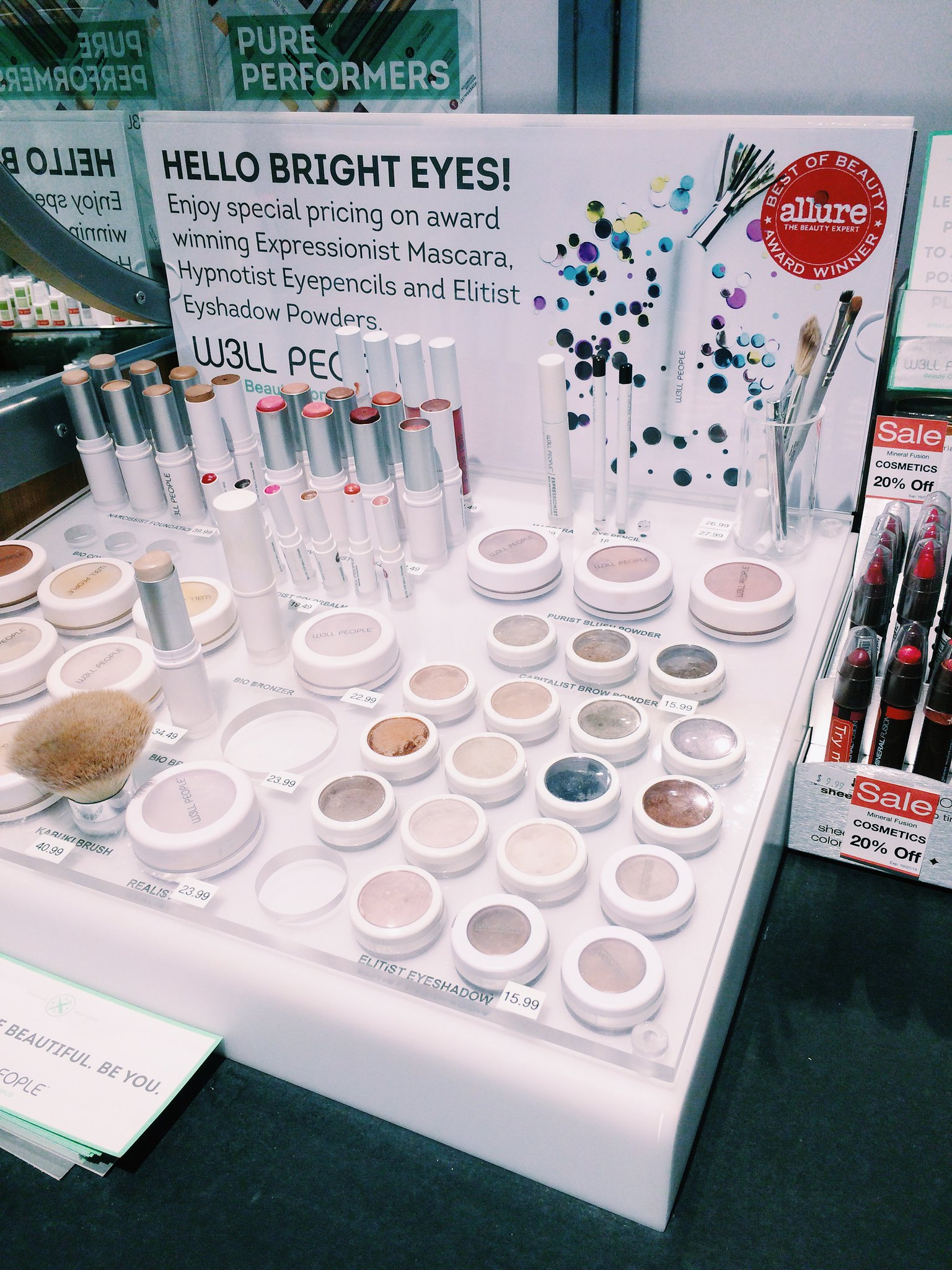 Pharmaca natural eye makeup