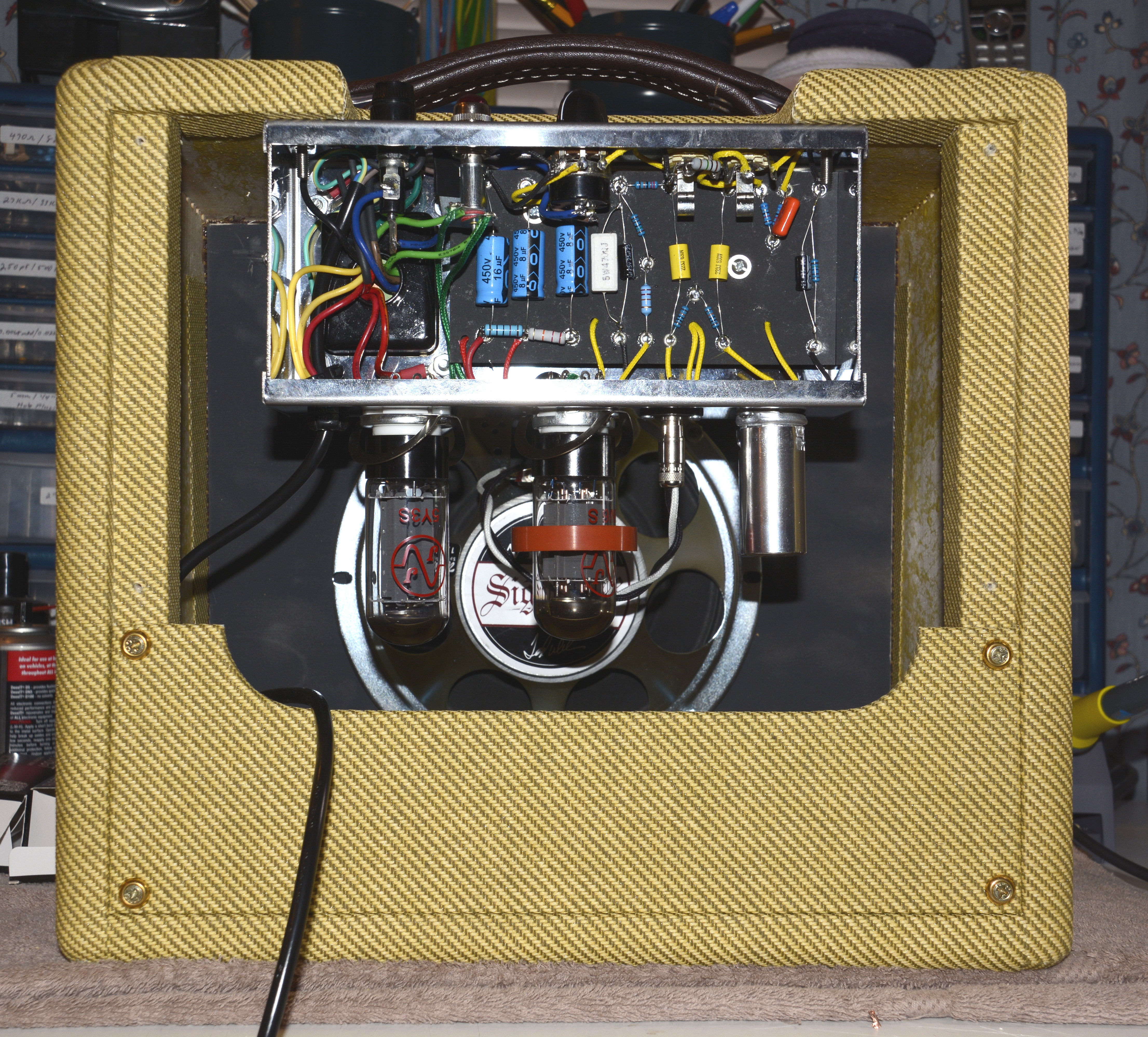 Weber Amplifier Kits Wiring Diagrams Dumble Style Build For A Beginner The Gear Page Guitar