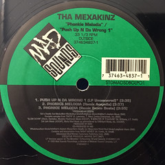 THE MEXAKINZ:PHONKIE MELODIA(LABEL SIDE-B)