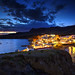 Isleta at Dusk by hapulcu
