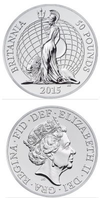 commemorative £50 coin reverse