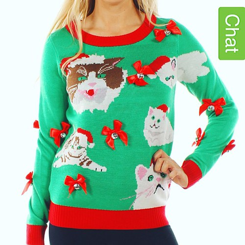 Oh man, I want this sweater.