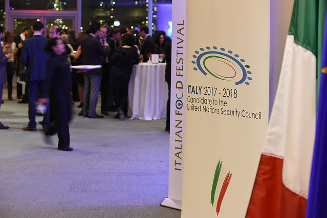 Italian Food Festival at United Nations Headquarters - December 7-11, 2015