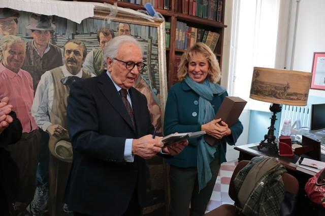 Conversano- Stefania Craxi visita la Fondazione di Vagno presieduta da Gianvito Mastroleo  (2)