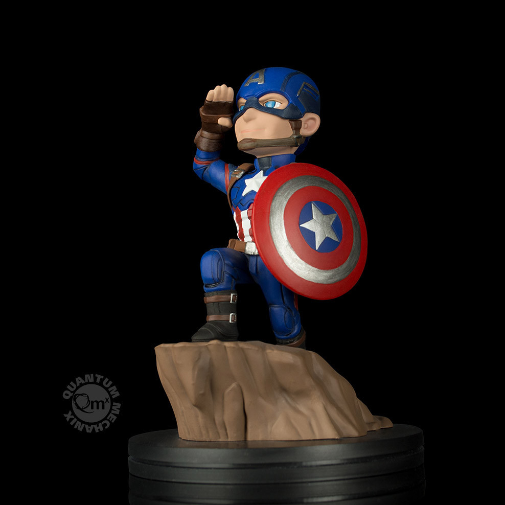 向藍藍的上班日敬禮!!Quantum Mechanix Q-Fig【美國隊長】Captain America Civil War