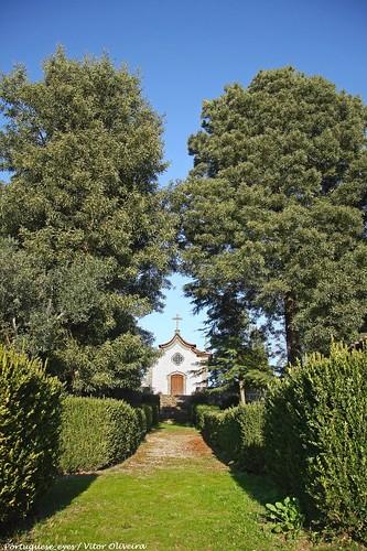 Capela do Senhor dos Aflitos - Mosteiro de Fráguas - Portugal
