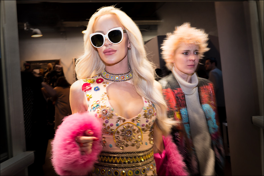 Gigi Gorgeous & Nats Getty...NYFW Feb. 2017