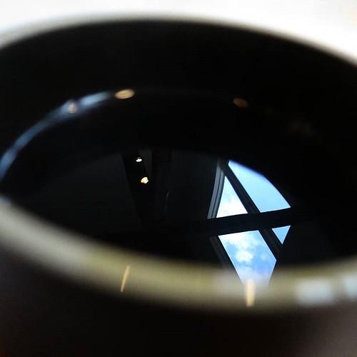 珈琲の写る、HAGISO の窓。