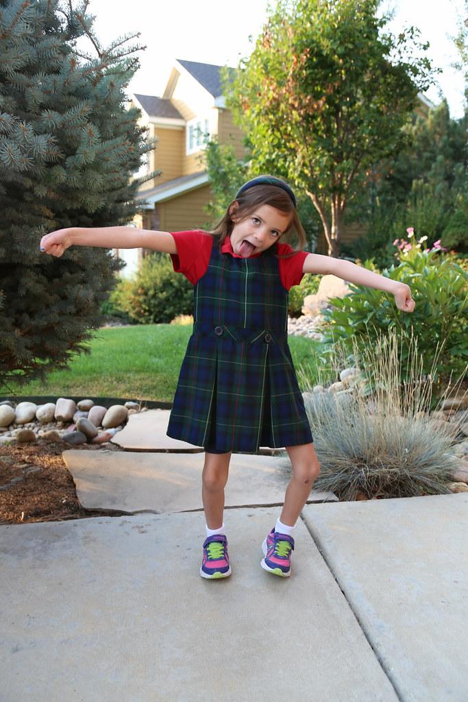 Kayla Back to School - Kindergarten
