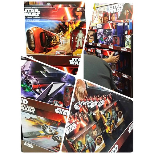 There were many #starwars #theforceawakens merchandises on sale during #forcefriday at #tru last night. I try to steer clear from the abysmal 5-points of articulation action figures but there were a few vehicles that caught my attention. #geekshavethemost