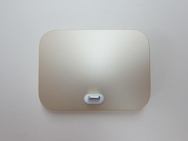 Apple iPhone Lightning Dock (Gold) - Top