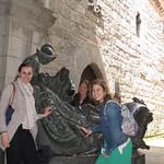 Loyola statue in Spain 1