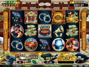 Cash Bandits slot game online review