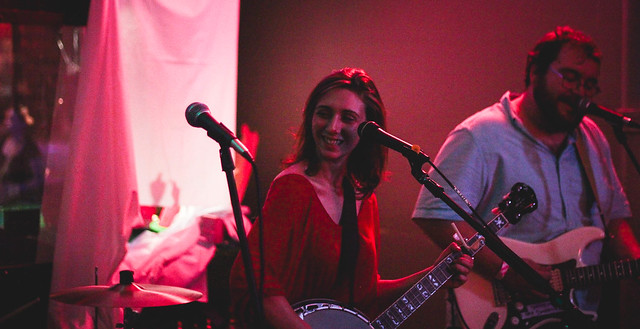 Pleides & The Bear @ Burke's | 9.4.15 | Benson Femme Fest