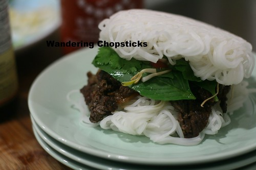 Pho Burger with Vietnamese Beef Noodle Soup Spices 17