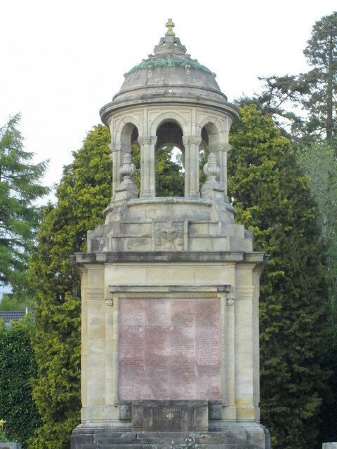 Helensburgh War Memorial Close-Up
