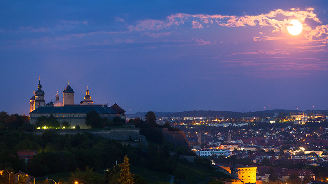 Marienberg Fortress. Würzburg, Germany