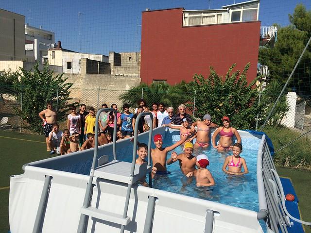 Casamassima-I ragazzi del Semiconvitto Pia Domuns Cristo Re raccontano la gioia per la nuova piscina (4)