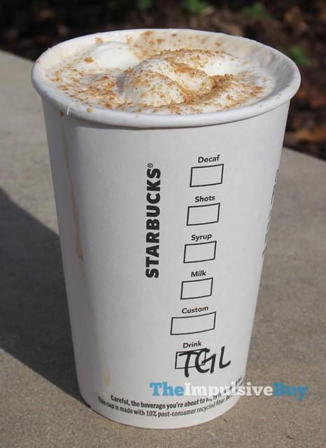 Starbucks Toasted Graham Latte