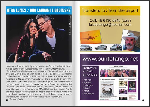 Duo Laudani Libedinsky en Punto Tango
