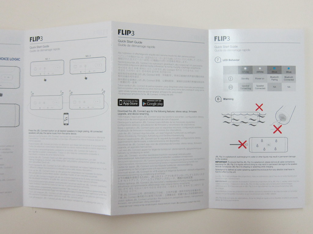 JBL Flip 3 - Setup Instructions | Lester Chan | Flickr