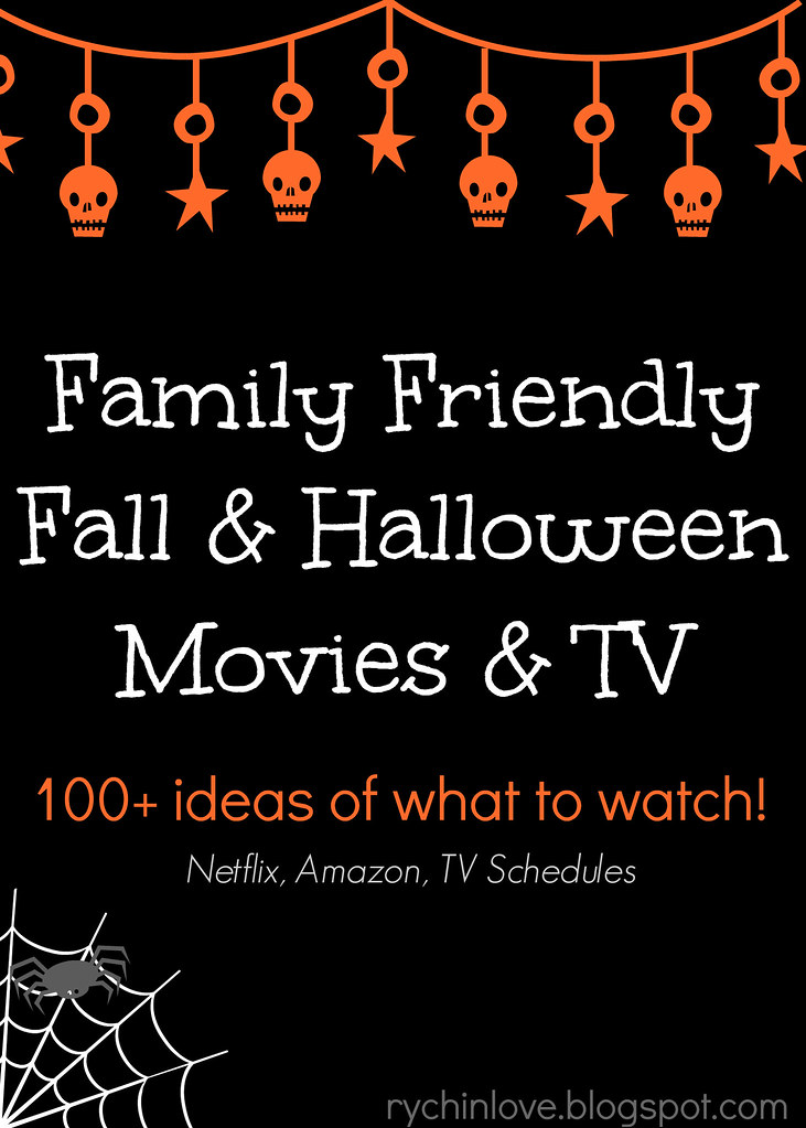 Family Friendly Fall Halloween TV & Movies