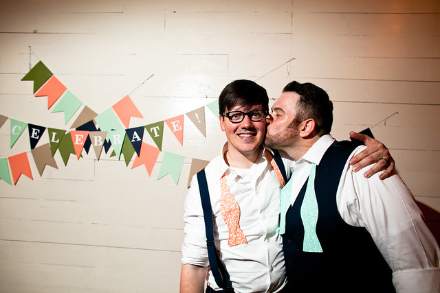 Phillip and Justin's Palm Door Wedding in Downtown Austin, Texas