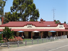 Mintaro. The Clare Valley. Magpie and Stump Hotel.