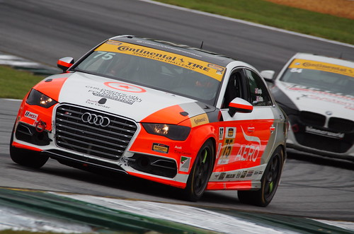Road Atlanta - Petit le Mans 2015 - CTSC Grand Sport - #75 Compass 360 Audi S3 - Paul Holton / Kyle Gimple