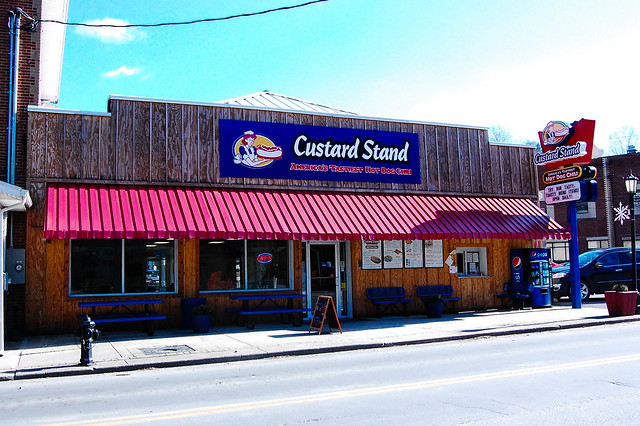 Custard Stand-  Webster Springs