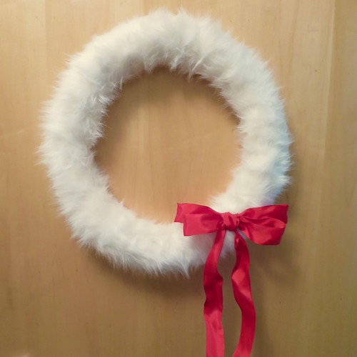 Faux Fur Wreath