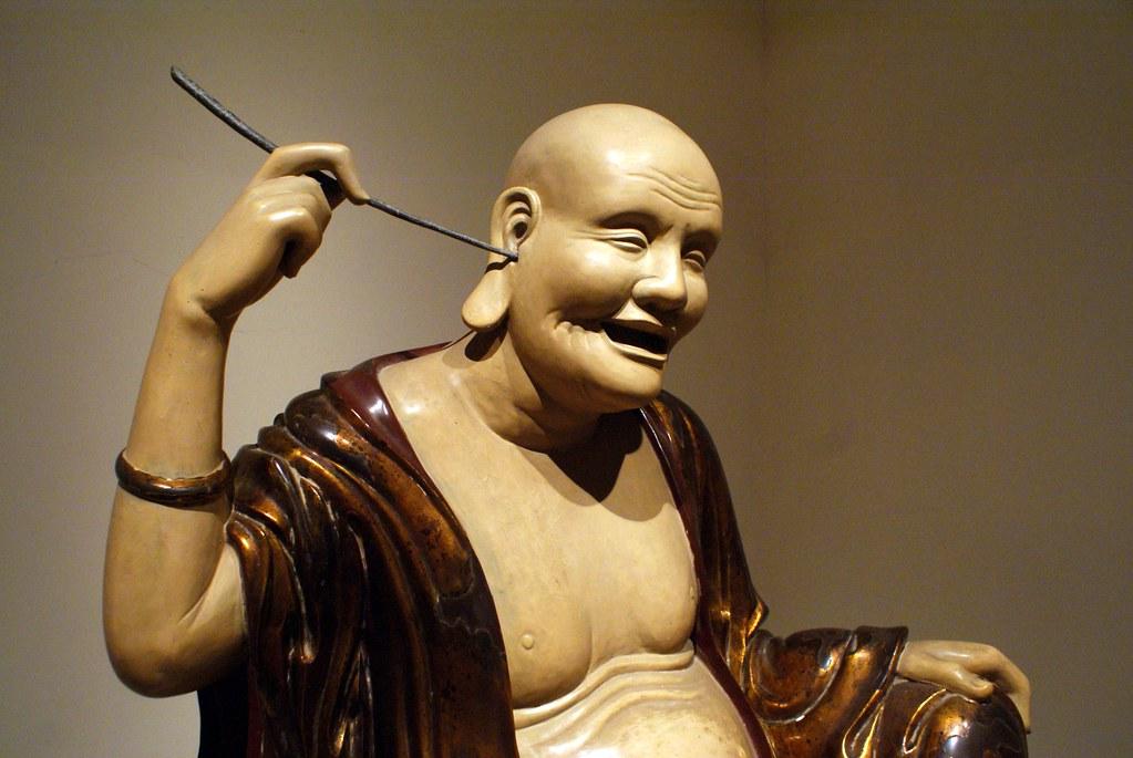 8e Patriarche : Le vénérable Bouddha de la Pagode Tây Phuong au Musée des beaux arts d'Hanoi au Vietnam.