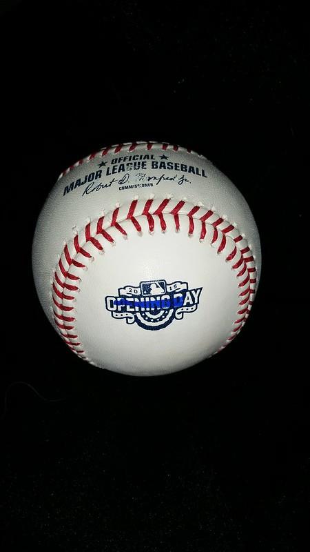 2015 Opening Day Baseball
