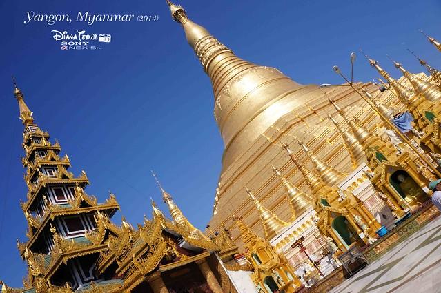 Myanmar, Yangon Shwedagon Pagoda 03