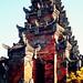 Bali 2015, Pura Puseh Temple Batuan, temple weru WM
