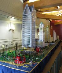 MichLUG LEGO Display at Greenfield Village in Dearborn, Michigan