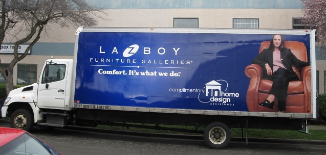 La z boy vehicle graphics