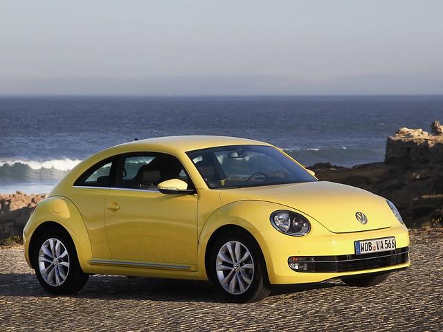 Купе Volkswagen Beetle. 2011 год