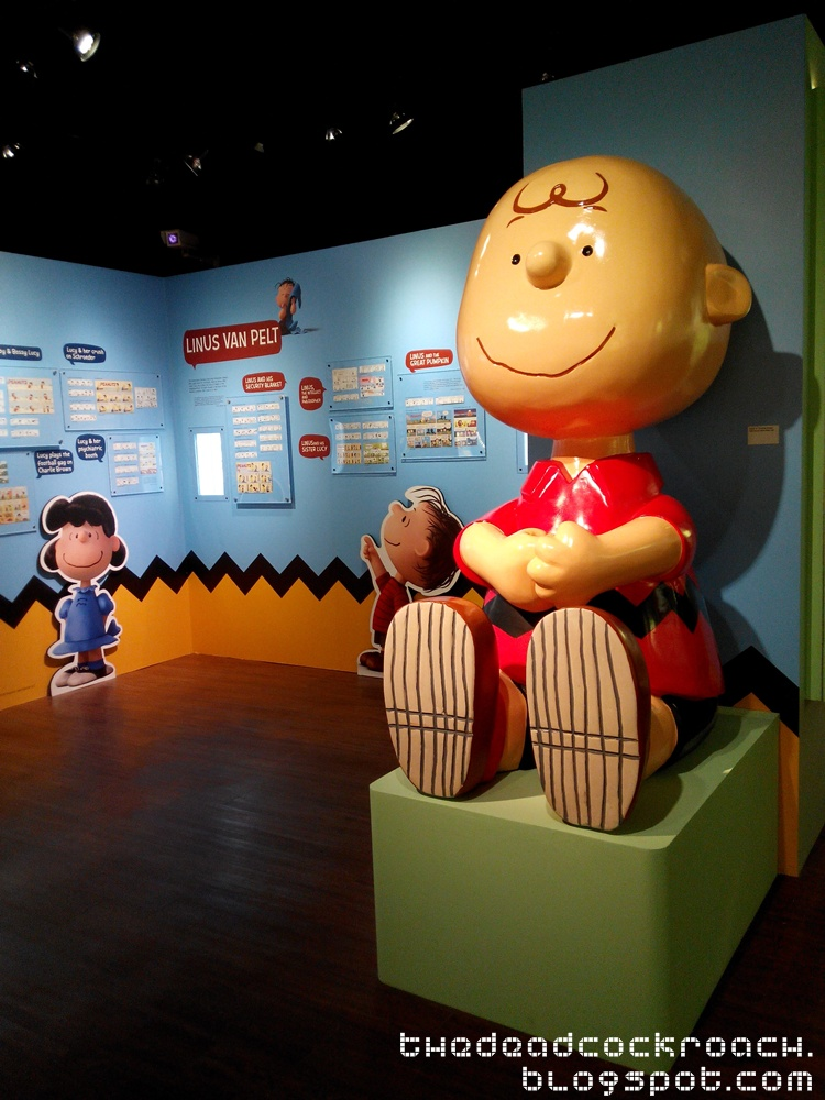 Exhibition Stand Singapore : With love from snoopy charlie brown and the peanuts gang