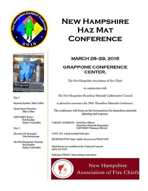 Haz Mat Speaker