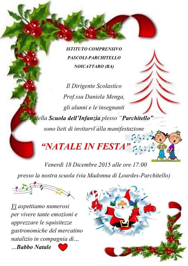 Noicattaro. Natale in Festa Infanzia Parchitello intero