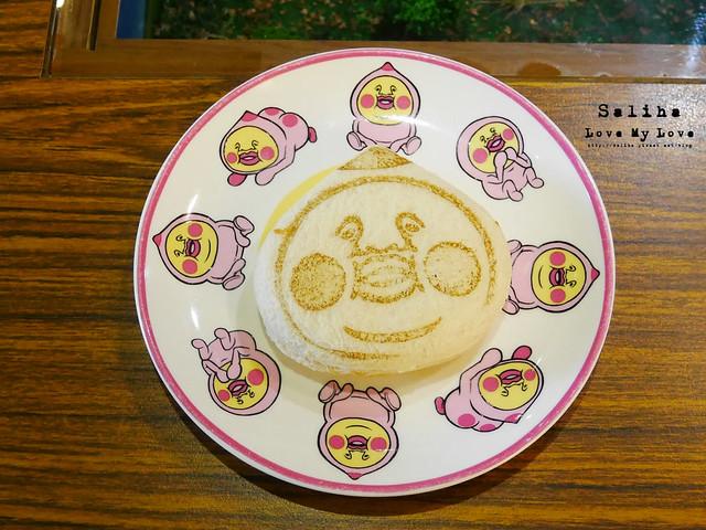 台北東區主題餐廳醜比頭的秘密花園輕食咖啡屁桃 (1)