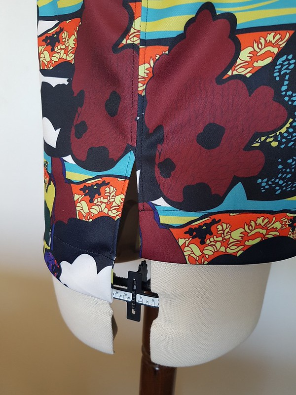 Style Arc Esme top in poly Anna Sui double knit from Darn Cheap Fabrics