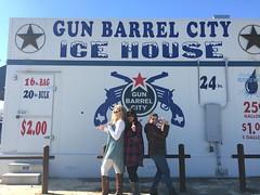 Having fun in Gun Barrel City, TX.  Jan 2017.