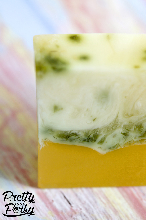 Meyer Lemon and Herbs Soap