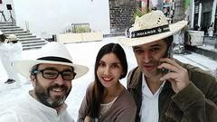 Nuestros compañeros de La Palma trabajando duramente el día de Los Indianos :) .