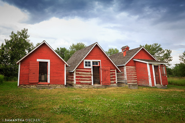 Three Little Sheds